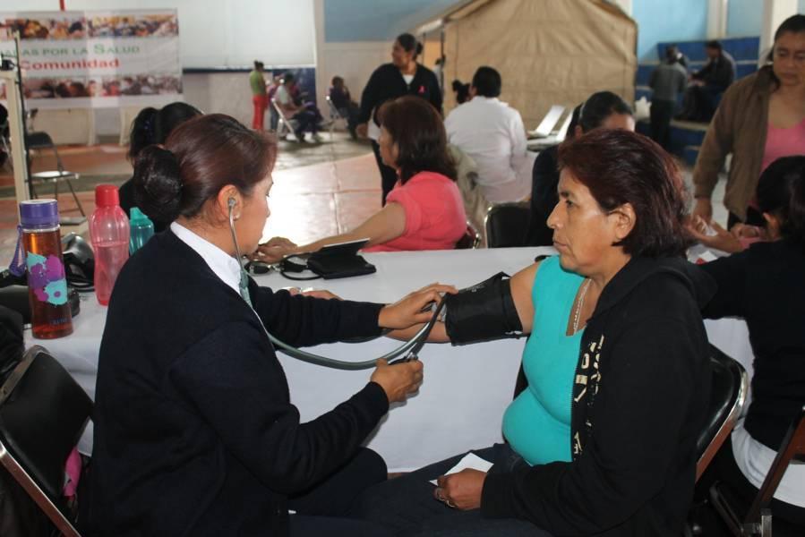 Ofrecerán jornadas por la salud en Papalotla