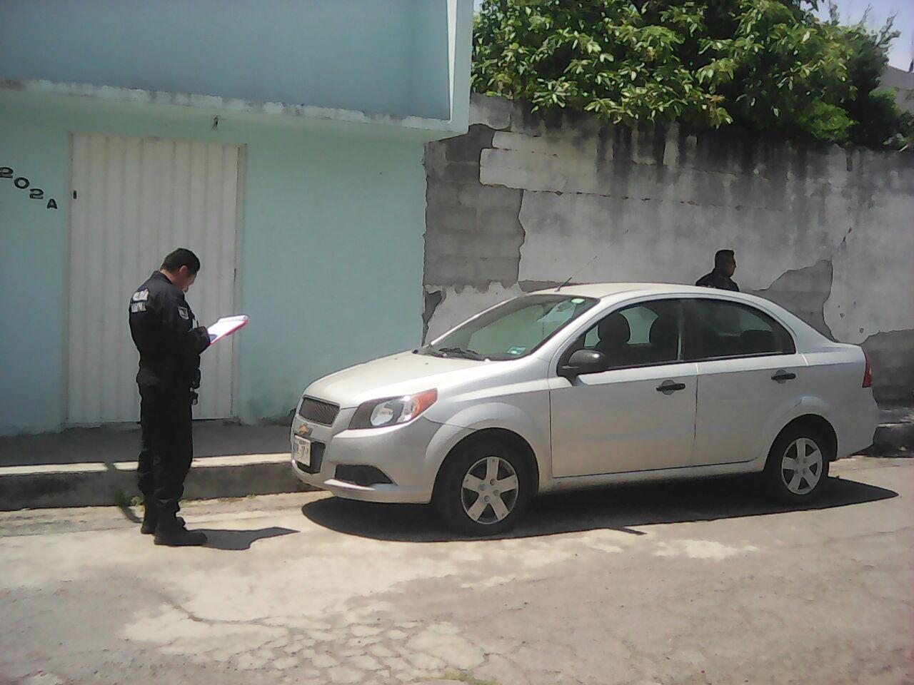 Policía de Totolac, recupera vehículo con reporte de robo