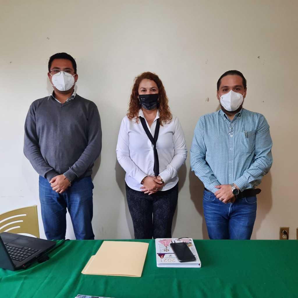 Equipo de Lorena Cuéllar se reúne con miembros de la ENADISEX