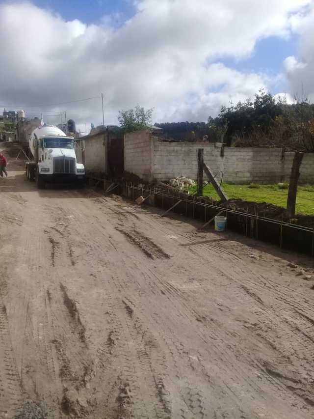 La avenida del Trabajo de Galeana contara 2,300 m2 de pavimento: alcalde