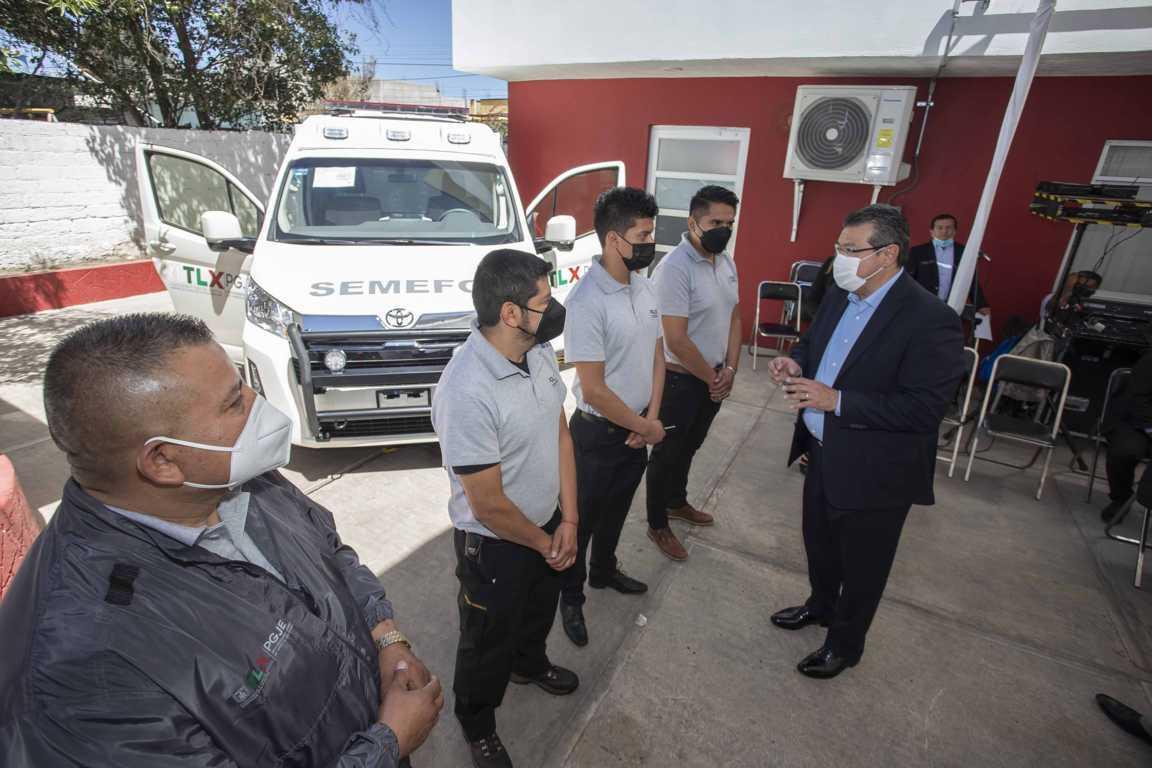 Marco Mena inaugura Fiscalía Especializada en Personas Desaparecidas