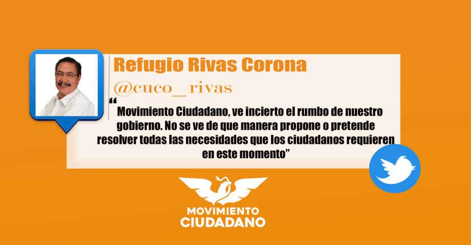 Reprueba Movimiento Ciudadano los 100 días del Gobierno de Marco Mena