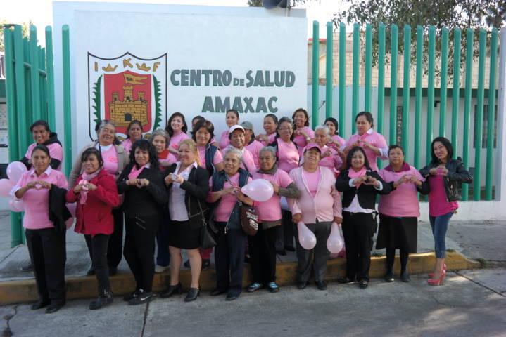 Amaxac se suma al Día Internacional de la Lucha Contra el Cáncer de Mama