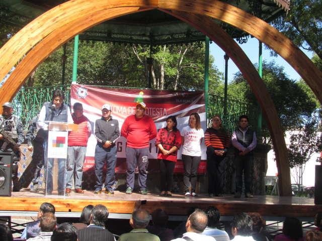 Enfrentaremos a quien perturben la paz social de capitalinos: Ávalos Zempoalteca