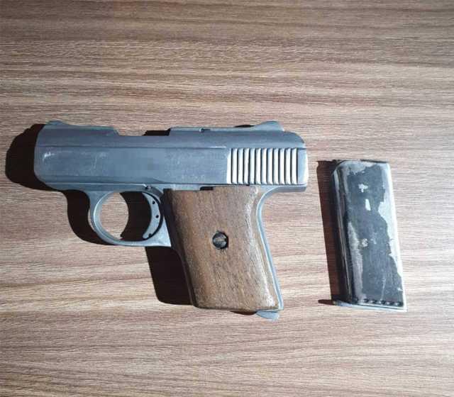 Grupo antiasalto detiene en Cuapiaxtla a una persona con un arma de fuego