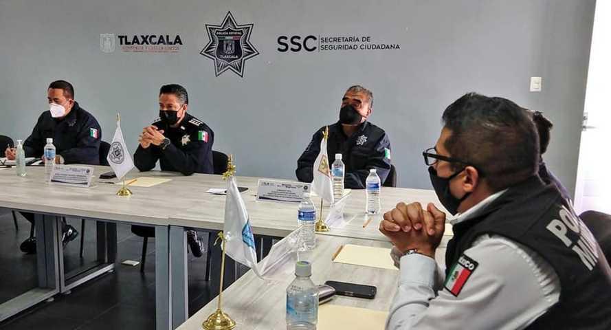 La SSC realiza reunión extraordinaria de la conferencia estatal de directores municipales