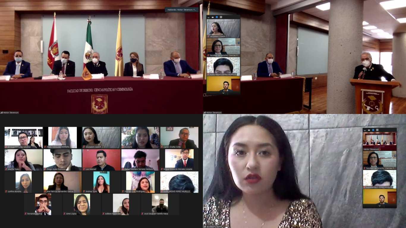 Egresa nueva generación en Ciencias Políticas y Administración Pública de la UATx