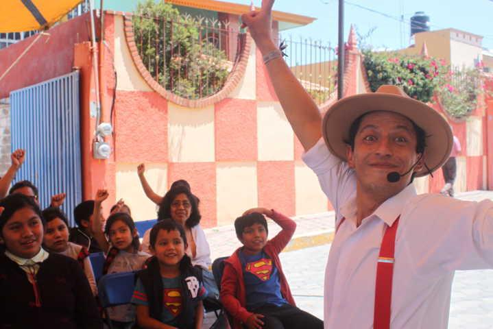 Continúan los sábados de Teatro en Xicohtzinco