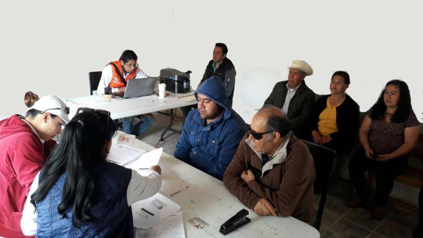Vecinos del municipio de Tecopilco dicen SI a Movimiento Ciudadano