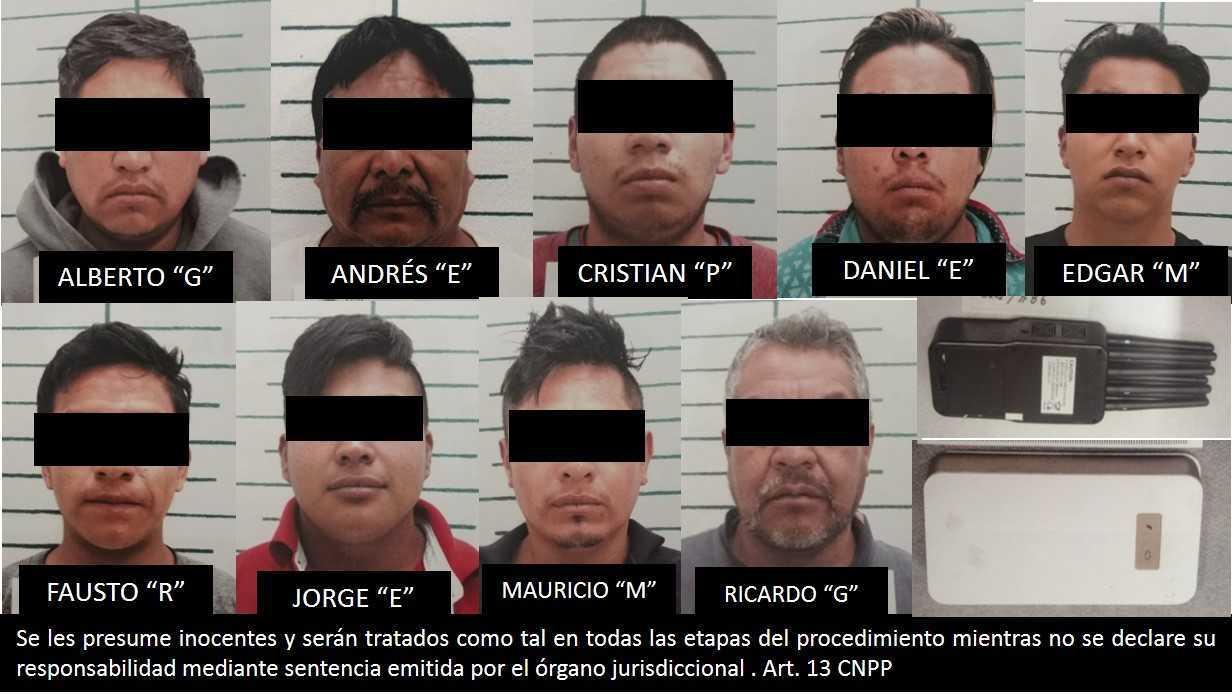 Detienen a peligrosa banda de ladrones de autotrasporte en Tlaxcala