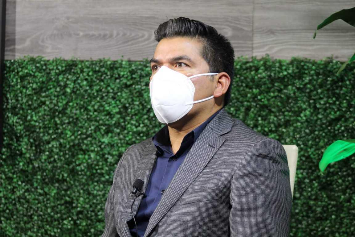 Celebra Diputado Garrido la llegada de las vacunas a Tlaxcala