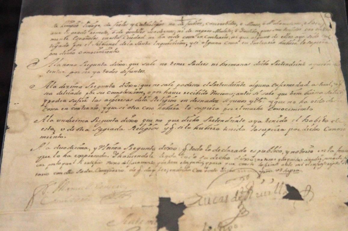 Dedica Archivo Histórico exposición documental a la Tlaxcala mestiza durante el siglo XVIII