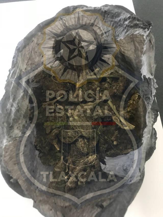 La CES continúa trabajando contra el narcomenudeo, asegura a una persona en Papalotla