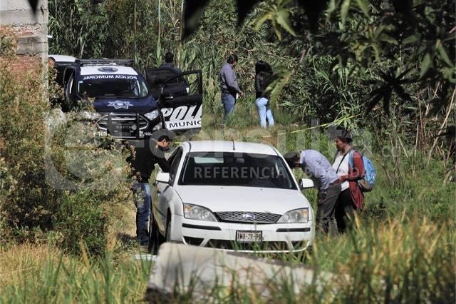 Ejecutan a tres en Puebla, viajan en un auto con placas de Tlaxcala