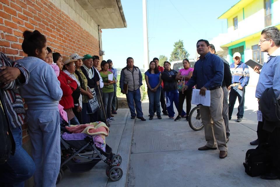 Inversión histórica beneficiará a más 50 familias de la comunidad Guadalupe Victoria