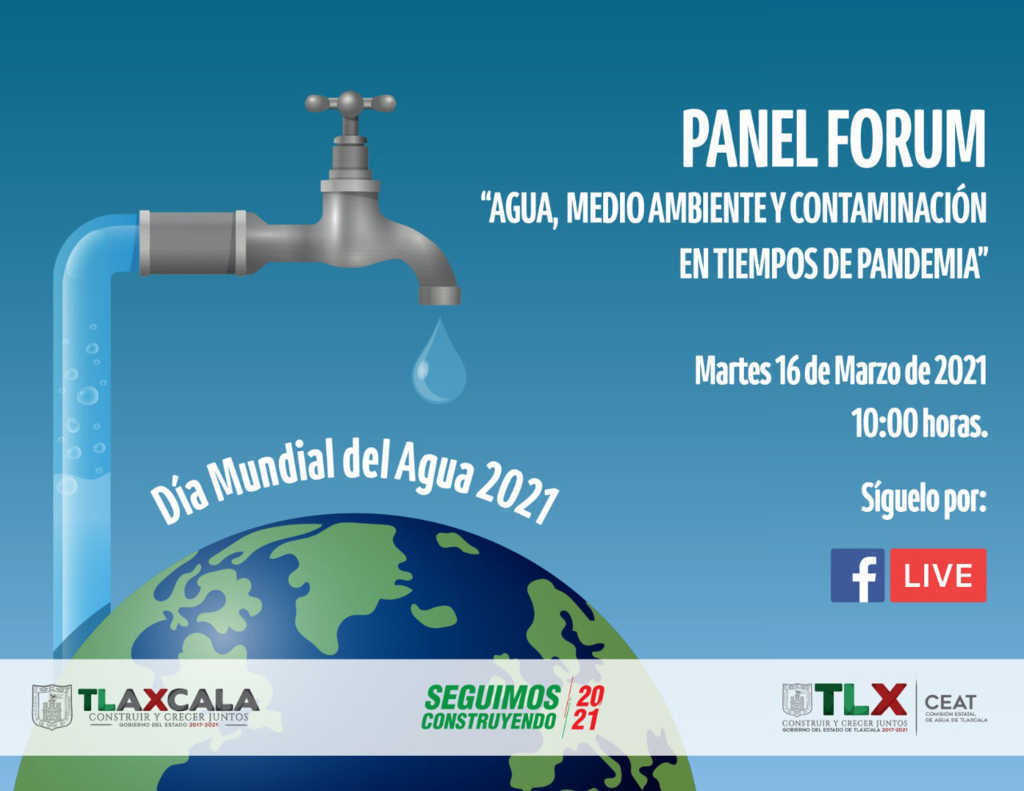 Conmemorará CEAT día mundial del agua con foro virtual