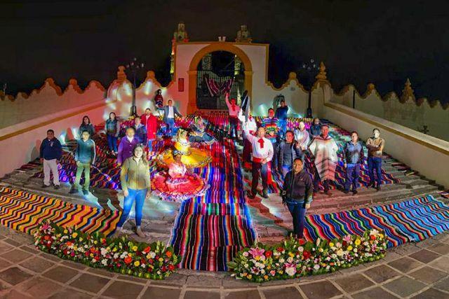 Se prepara Contla, para recibir las Fiestas Patrias de manera virtual.