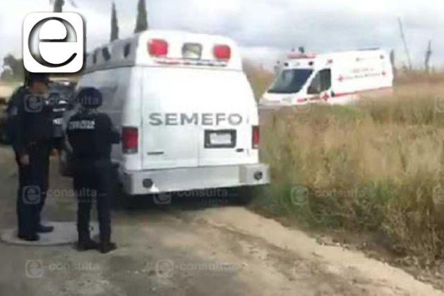 Localizan cadáver en avanzado estado de descomposición en Tenancingo