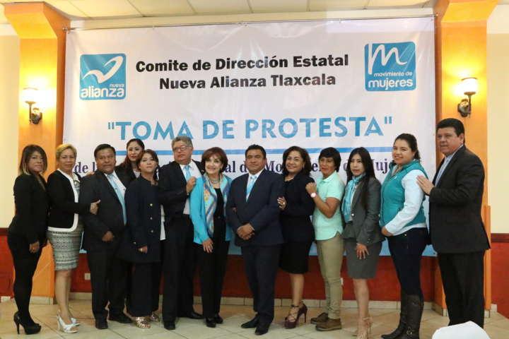 Renueva Nueva Alianza Tlaxcala  Coordinación Estatal del Movimiento de Mujeres