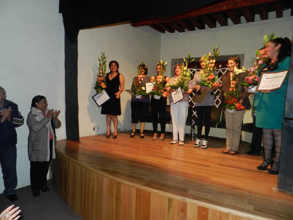Recibe Martha Palafox reconocimiento como impulsora de la cultura en Huamantla