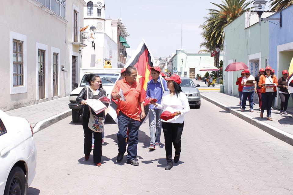 Ratifica PT a Silvano Garay como Comisionado Político en Tlaxcala