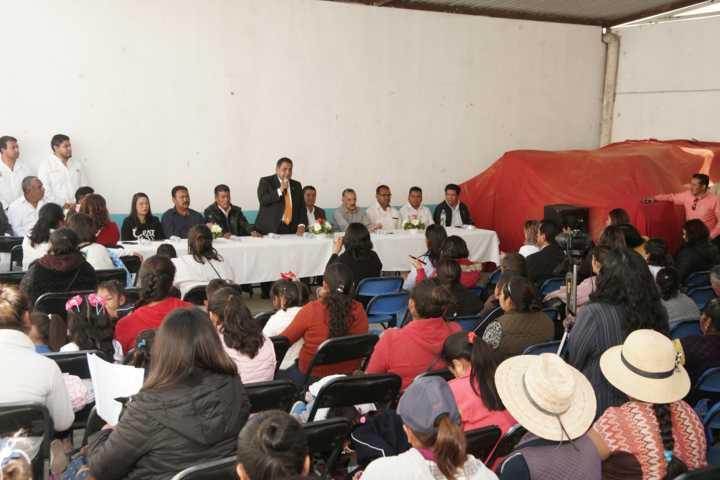 Apertura UATx la 21 Casa de Autorrealización en San Vicente Xiloxochitla