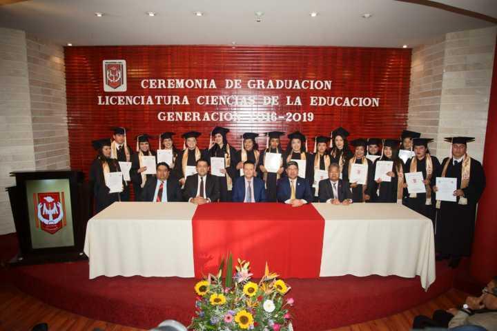 Concluye estudios generación 2016-2019 de la Licenciatura en Ciencias de la Educación