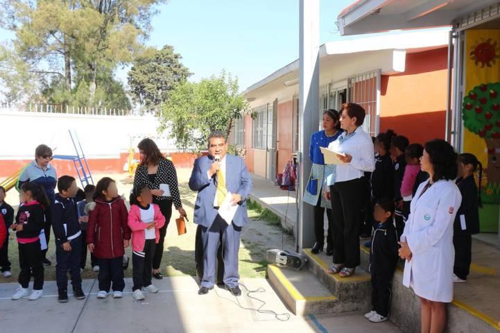 Efectuó la UATx programa de eliminación de caries en Tlaxcala