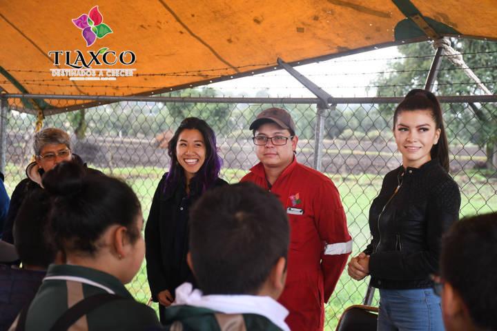 Celebra Tlaxco Día Mundial del Medio Ambiente con vigilantes del agua