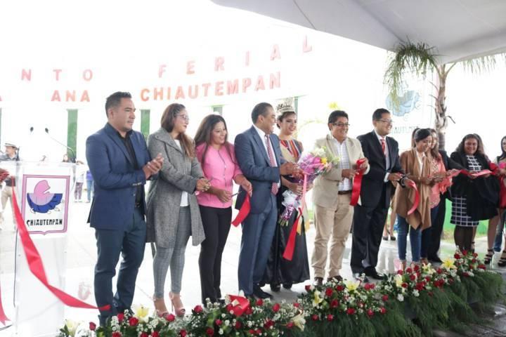 """Inauguran la  """"Feria de Chiautempan 2018 la Cuna del Sarape"""""""