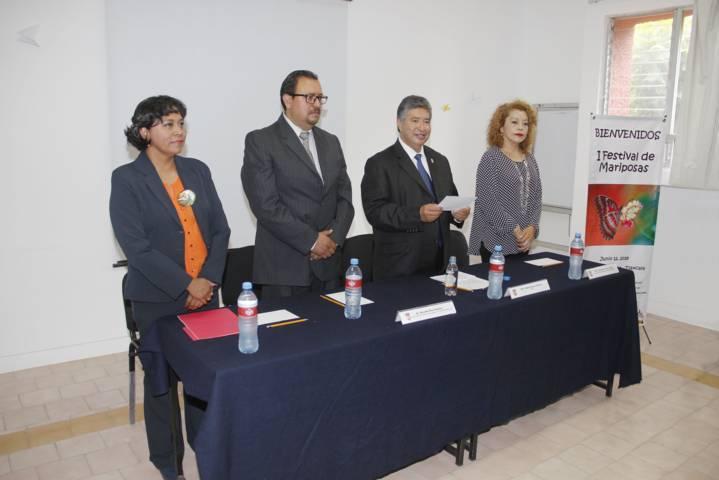 Inaugura UAT Mariposario y 1er. Festival de las Mariposas.