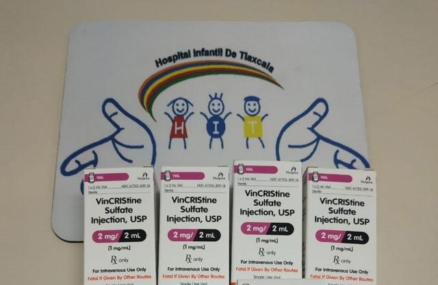 Adquieren segunda dotación de medicamentos para niños con cáncer