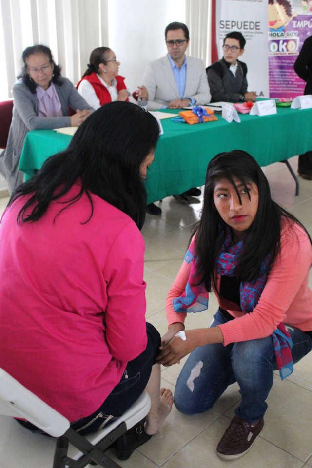 Clausuran Icatlax e Itpcd cursos para personas con discapacidad