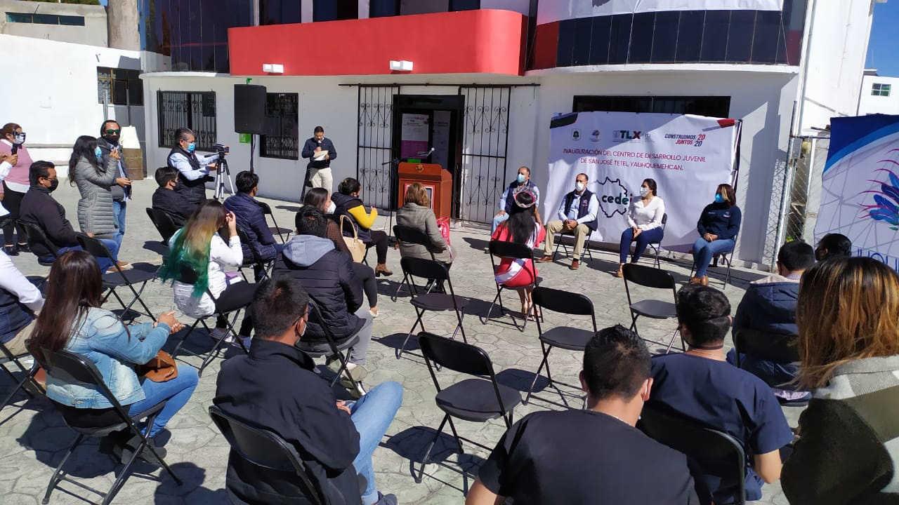 Abre ITJ dos centros de desarrollo juvenil en Yauhquemehcan