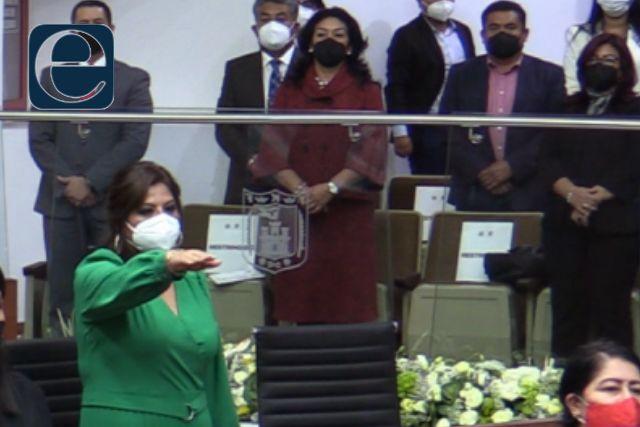Gabriela Brito Jiménez toma protesta como diputada del 07 de Tlaxcala
