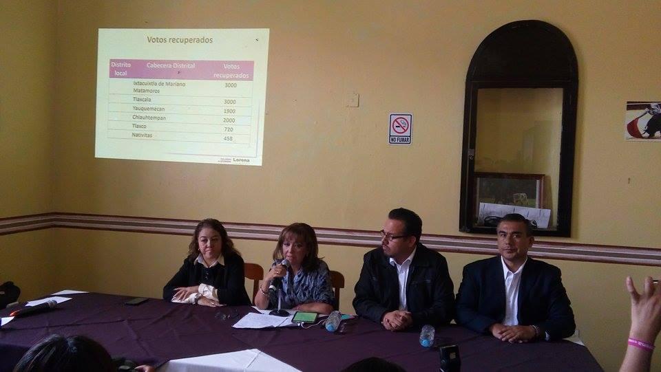 Solicita PRD intervención del INE y Segob para reconteo de votos