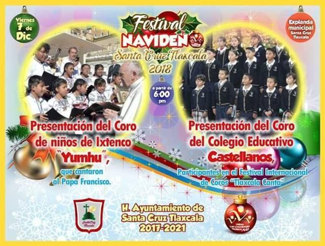 Llegar este viernes Coros Voces Yumhu al 2do festival navideño