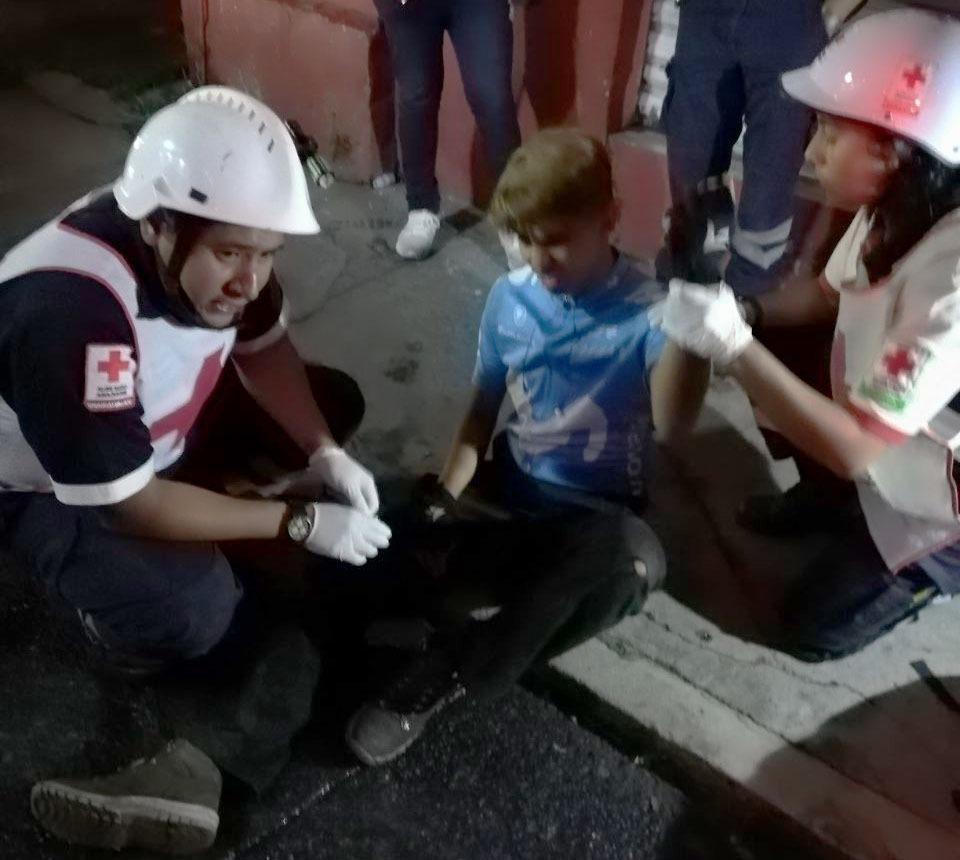 Arrollan a ciclista en Ocotlán, responsable se da a la fuga