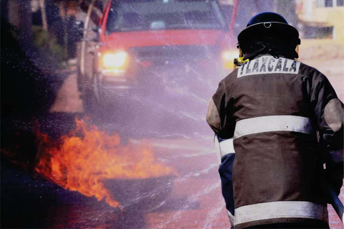 Despliega el cuerpo de bomberos acciones en atención a la ciudadania durante el 2020