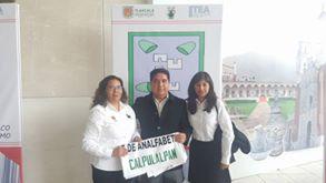 Abate ITEA analfabetismo en Calpulalpan