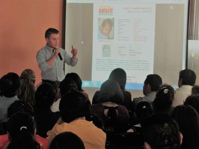 Implementan en capital campaña de prevención para evitar robo de niños