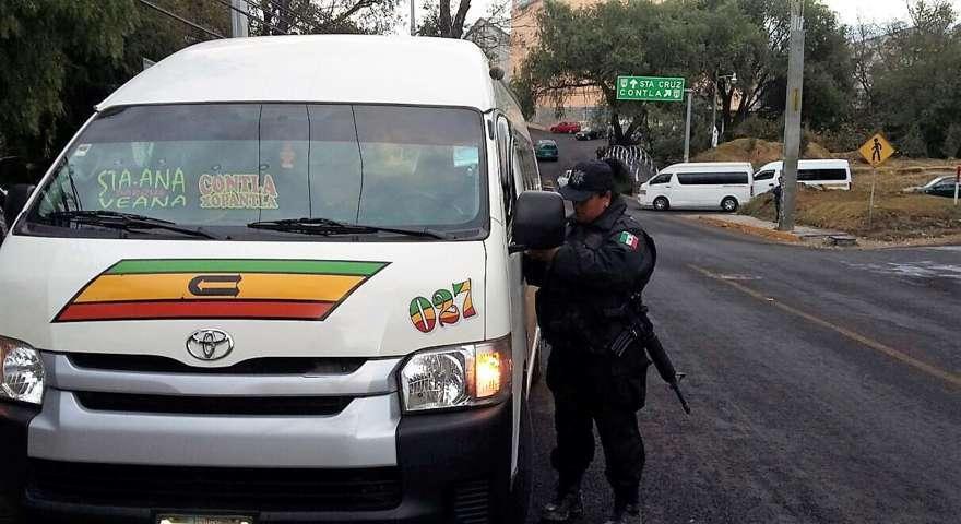 Trabajo coordinado para prevenir delitos en el transporte público