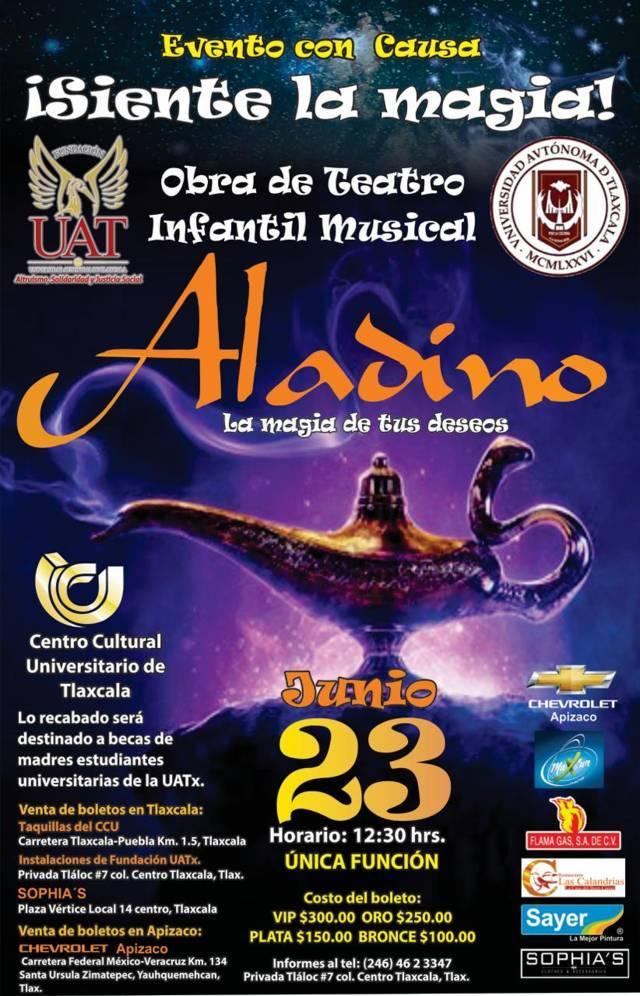 Invita Fundación UAT a obra de teatro infantil