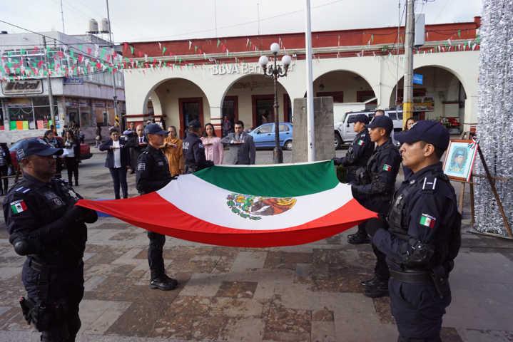 Alcalde de Calpulalpan encabezo Gesta Heroica de los Niños Héroes