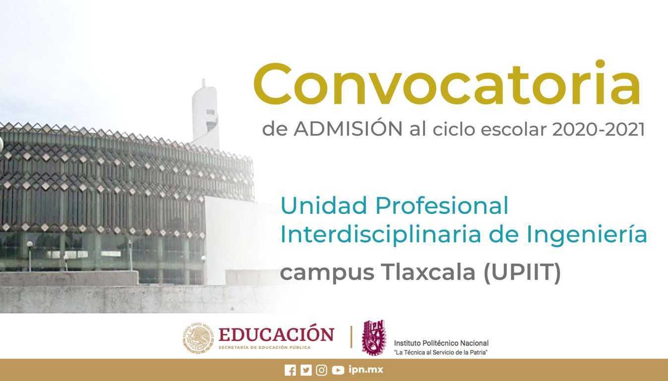 15 de febrero, último día para registrarse a las ingenierías y licenciatura del IPN, campus Tlaxcala
