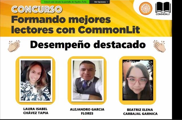 Maestro de Tlaxcala destaca en concurso de formadores de lectores