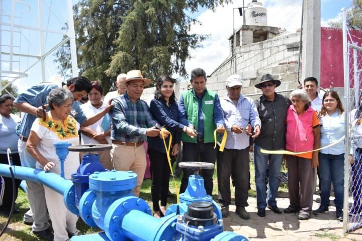 Rehabilita CAPAZ Pozo Arenal y Pozo Centenario de Zacatelco
