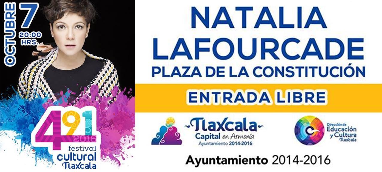 Todo listo para que Natalia Lafourcade se presente en  Festival Cultural Tlaxcala