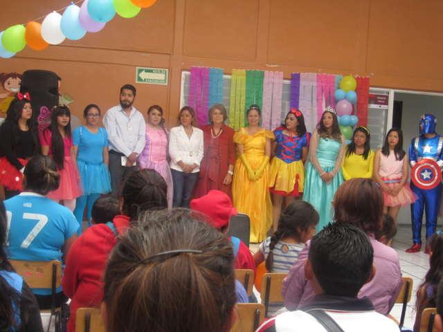 Festeja Instituto Municipal con Discapacidad a niñas y niños