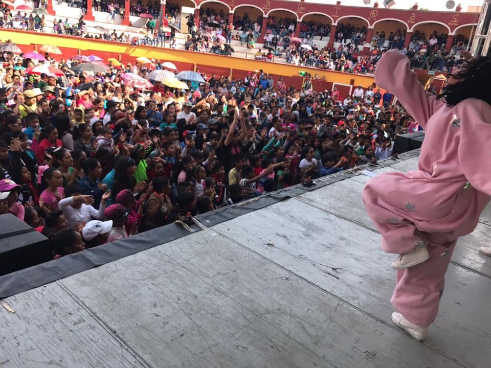 Celebra ayuntamiento capitalino el Día del Niño con más de 10 mil  pequeños del municipio